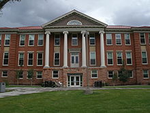 North Hall of the present day Taylor Hall at Western Colorado University.