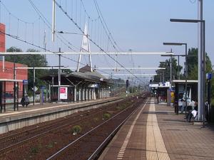 Utrecht Overvecht railway station - Image: Station Utrecht Overvecht
