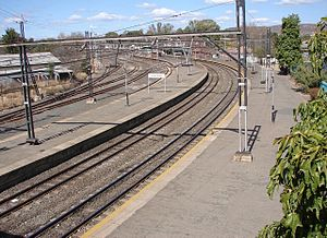 Ladysmith, KwaZulu-Natal - Ladysmith railway station