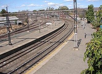 Ladysmith, KwaZulu-Natal - Ladysmith railway station