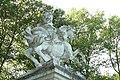 Statue équestre de Louis XIV sous les traits de Marcus Curtius le 11 septembre 2015 - 10.jpg