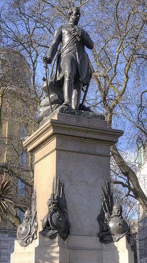 Statue Of James Outram, Victoria Embankment Gardens
