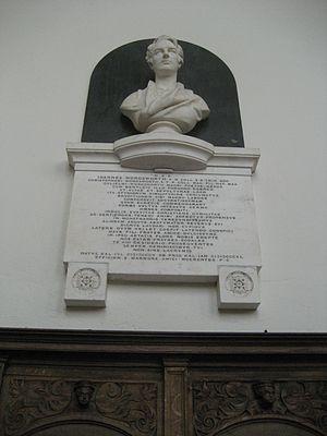 John Wordsworth - John Wordsworth (bust by Henry Weekes, Trinity College Chapel)