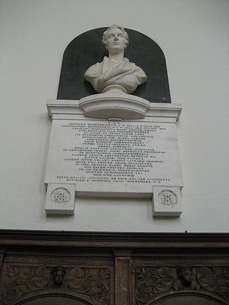 John Wordsworth - John Wordsworth (bust by Henry Weekes, Trinity College Chapel)