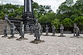 Statues of madarines court Khai Dinh tomb, Hue (39513676902).jpg