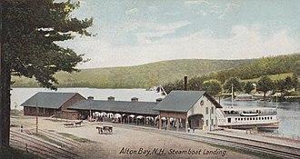 Alton, New Hampshire - Image: Steamboat Landing, Alton Bay, NH