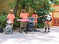 Steel drum band, Disney's Animal Kingdom.JPG