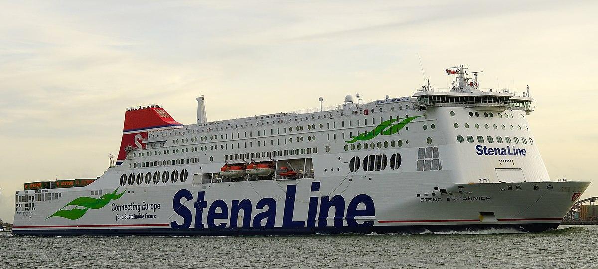 7 Passenger Vehicles >> MV Stena Britannica - Wikipedia