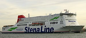 MV Stena Britannica - Image: Stena Britannica at Nieuwe Waterweg, 16.11.2016