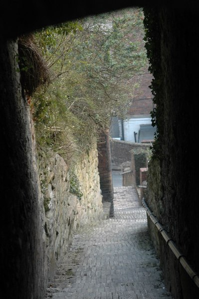 File:Steps beneath the Church - geograph.org.uk - 660560.jpg