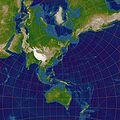 Stereographic Projection Japan.jpg