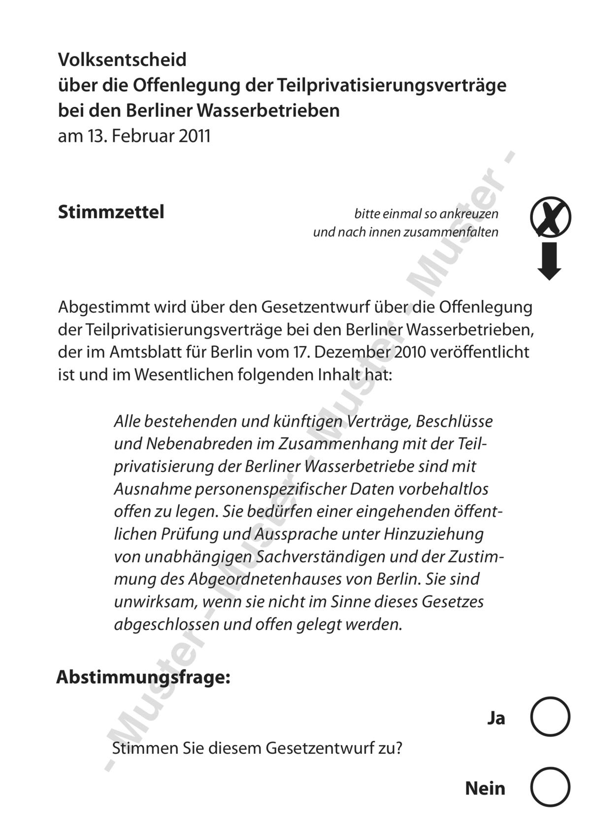 Bff Briefe Schreiben : Volksentscheid über die offenlegung der