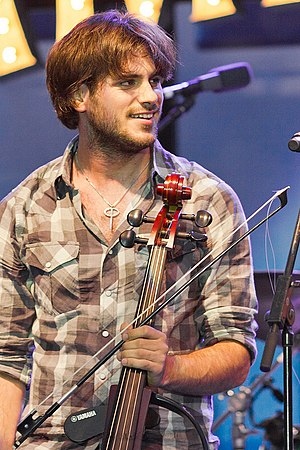 2Cellos - Stjepan Hauser with YAMAHA SVC-110