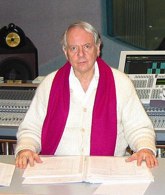 Sonntag aus Licht - Karlheinz Stockhausen on 7 March 2004 during the mix-down of Angel-Processions in Sound Studio N, Cologne