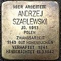 Stolperstein Andrzej Szablewski.jpg