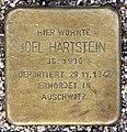 Stolperstein Bartningallee 7 (Hansa) Joel Hartstein.jpg