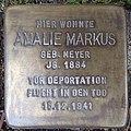 Stolperstein Bocholt Ludgerusstraße 4 Amalie Markus.jpg