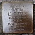 Stolperstein Bocholt Osterstraße 52 Martha Löwenstein.jpg