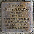 Stolperstein Bundesplatz 2 (Wilmd) Jenny Süssmann.jpg