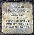Stolperstein Eichkampstr 108 (Westend) Margarete Zuelzer.jpg