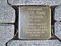 Stolperstein Julius Franz Rosemann, 1, Ostenwall 19, Mitte, Hamm.jpg