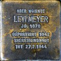 Stolperstein Köln, Levi Meyer (Brabanter Straße 27).jpg