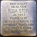 Stolperstein Köln, Rosa Stein (Werthmannstaße 1).jpg