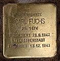 Stolperstein Westfälische Str 59 (Halsee) Carl Fuchs.jpg