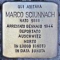 Stolperstein für Marco Sciunnach (Rom).jpg