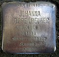 Stolpersteine Dortmund Wickeder Hellweg 91 Johanna Oppenheimer.jpg