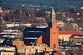 Stora kyrkan Östersund march 2012.jpg
