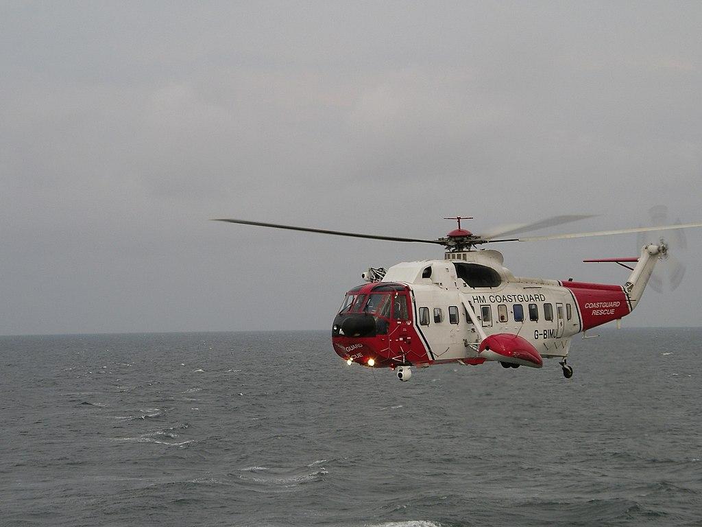 Elicottero S 61 : File stornoway coastguard s helicopter g wikimedia