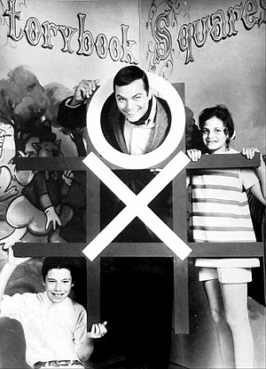 The Hollywood Squares - Peter Marshall hosting Storybook Squares in 1969