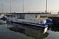 Stralsund, Hafen, Solarboote, by Klugschnacker in Wikipedia (2014-03-01) (2).JPG