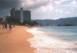 Strand von Acapulco