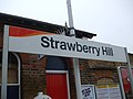 Strawberry Hill stn signage.JPG