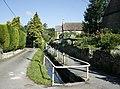Stream through Lower Wraxall - geograph.org.uk - 834936.jpg