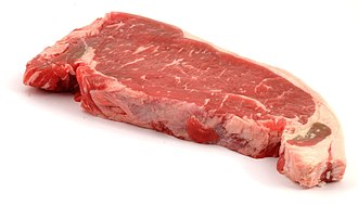 Strip steak - Raw strip steak