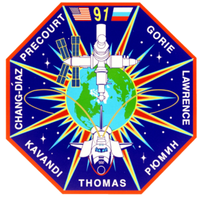 Andy Thomas - Image: Sts 91 patch