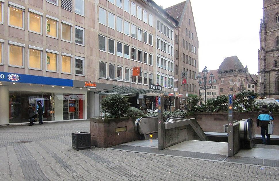 Subway station nuremberg