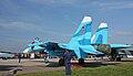 Sukhoi Su-27SM on the MAKS-2009 (02).jpg