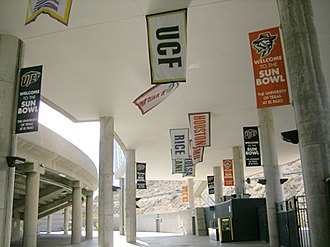 Sun Bowl (stadium) - Image: Sun Bowl 4