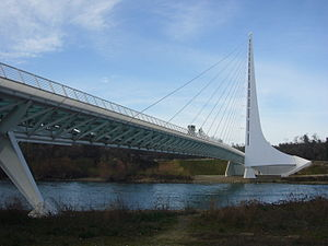Sundial Bridge at Turtle Bay - Image: Sundial Bridge at Turtle Bay
