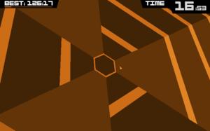 Super Hexagon - Super Hexagon on the PC