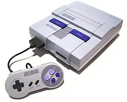 The original North American SNES (circa 1991)