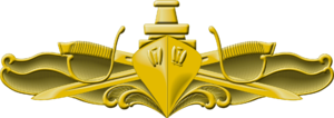 Lee Baggett Jr. - Image: Surface Warfare Officer Insignia