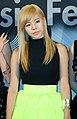 Susan Lee (Sunny Lee) at the 2010 Melon Music Awards 03.jpg