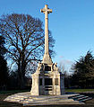 Sutton, Surrey, Greater London, War Memorial 3.JPG