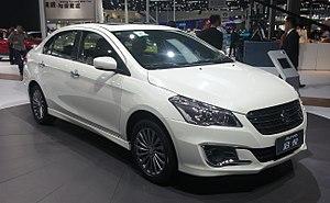 Suzuki Ciaz - Image: Suzuki Alivio Auto Shanghai 2015 04 22