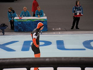 Netherlands at the 2010 Winter Olympics - Sven Kramer before his gold 5,000 m